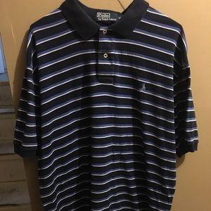 Men striped Ralph Lauren polo shirt